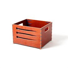 crate, bike crate, storage crate, ty-rap crate, tie wrap, concrete plywood, ty-rap, zip-tie, design crate